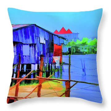 Delta Cove Throw Pillow