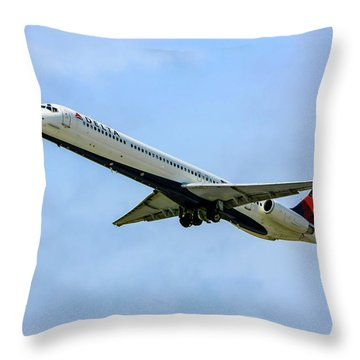 Delta Md88 Throw Pillow