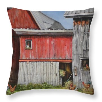 Deluxe Accommodations Throw Pillow