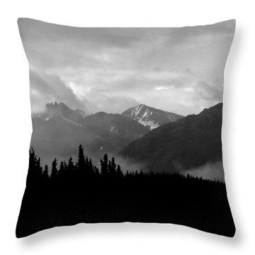 Denali National Park 1  Throw Pillow
