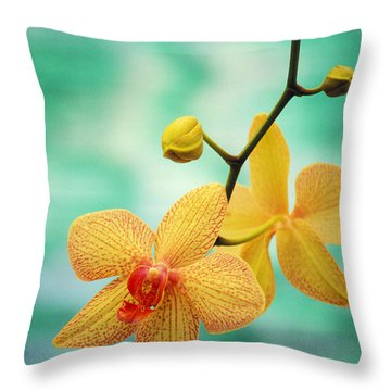 Orchid Throw Pillows