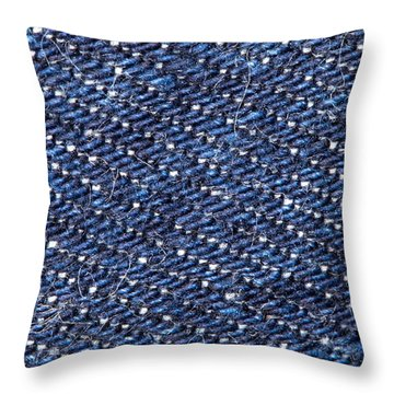 Denim 674 Throw Pillow