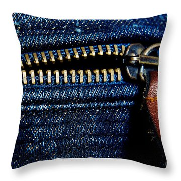 Denim Throw Pillow