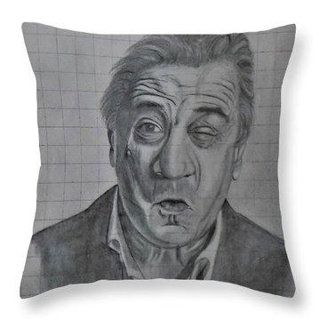 Deniro Throw Pillow