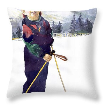Denis 03 Throw Pillow by Yuriy  Shevchuk