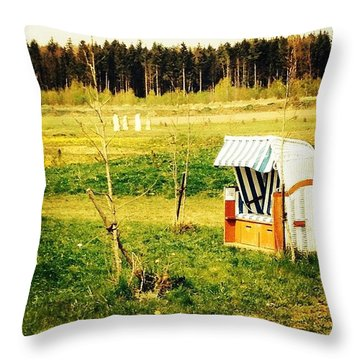 Little Stonehenge Throw Pillow
