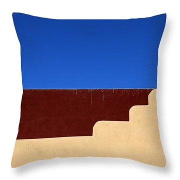 Denny's Roof Tucson Az Throw Pillow by Mary Bedy
