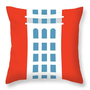 Denver D And F Tower/tall Throw Pillow