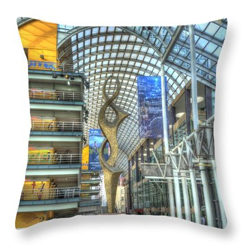 Denver Performing Arts Center Throw Pillow