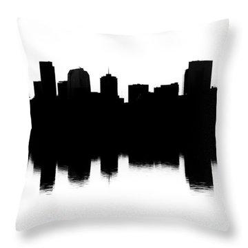 Denver Silhouette Throw Pillow