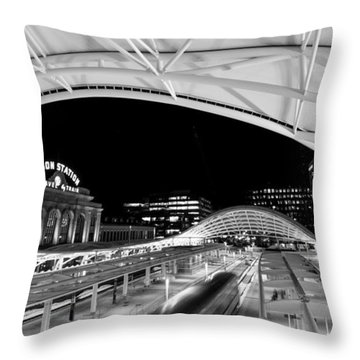 Denver Union Station 1 Throw Pillow