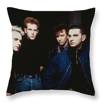 Depeche Mode Throw Pillow