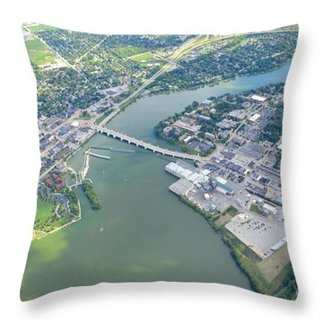 Depere 2 Throw Pillow by Bill Lang