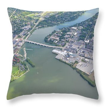 Depere 3 Throw Pillow