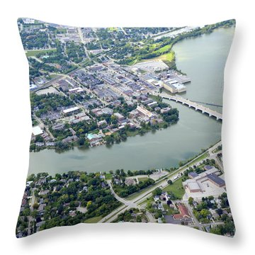 Depere 4 Throw Pillow by Bill Lang