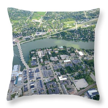 Depere Throw Pillow by Bill Lang