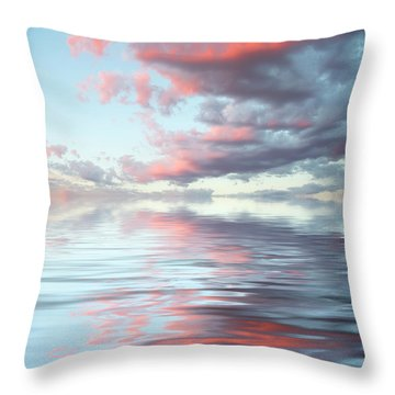 Depth Throw Pillow by Jerry McElroy