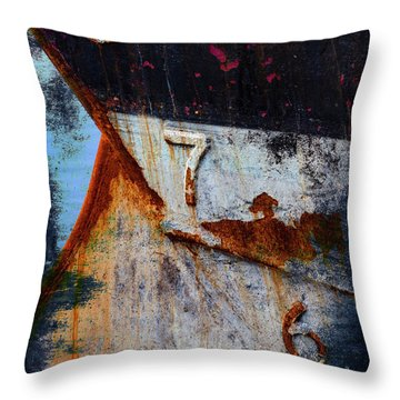 Depth Markers Throw Pillow