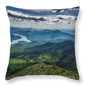 Depth View Throw Pillow