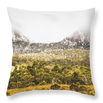 Depths And Ranges  Throw Pillow