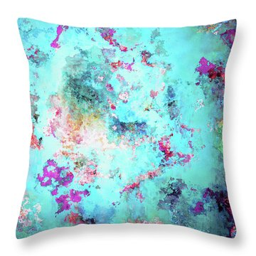Depths Of Emotion - Abstract Art Throw Pillow