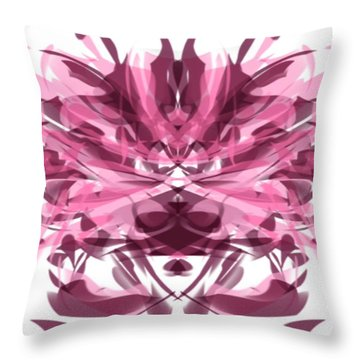 Derby Debutante Throw Pillow