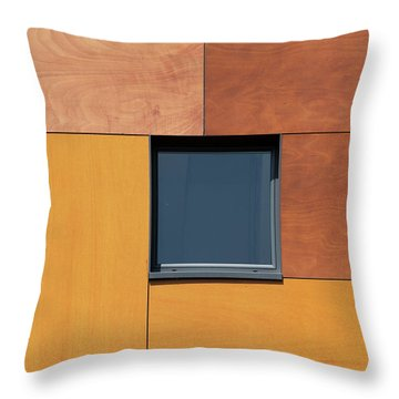 Derbyshire Window Throw Pillow