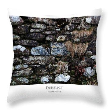 Derelict Throw Pillow