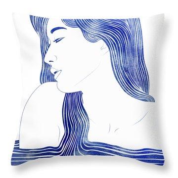 Dero Throw Pillow