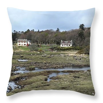 A Stretch Of Mull Throw Pillow