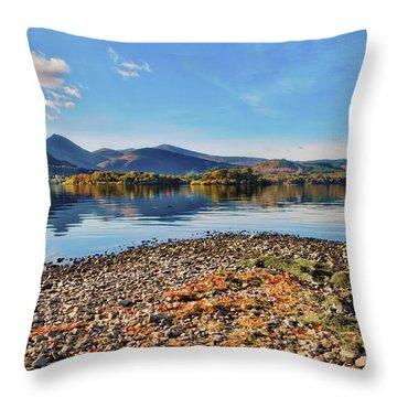 Derwent Shoreline Throw Pillow