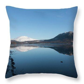 Derwentwater Shore View Throw Pillow