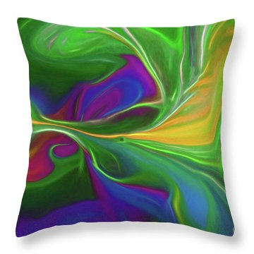 Descending Into Darkness Throw Pillow