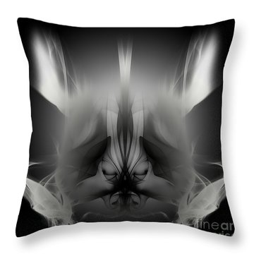 Descent Throw Pillow by Clayton Bruster