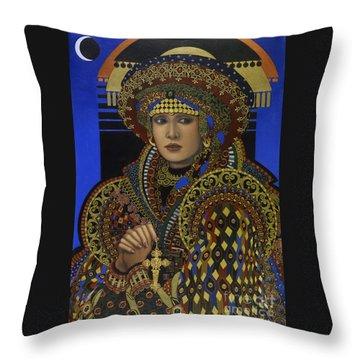 Desdemona Throw Pillow by Jane Whiting Chrzanoska