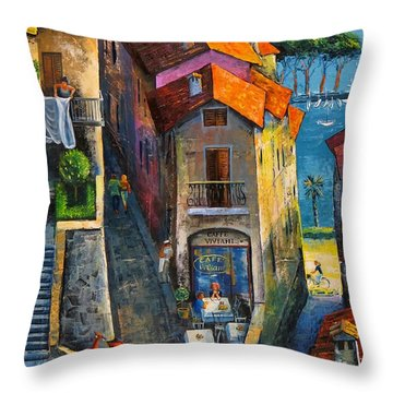 Desenzano Del Garda Throw Pillow