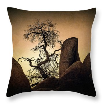 Desert Bonsai II Throw Pillow