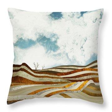 Desert Calm Throw Pillow