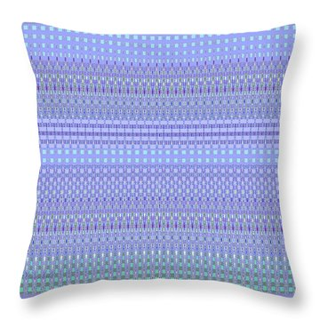 Desert Colors Abstract - Home Decor Design Purple And Green Throw Pillow