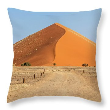 Desert Dune Throw Pillow