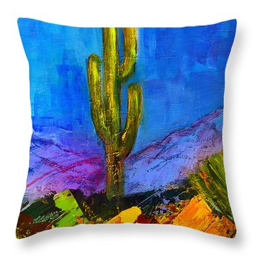 Desert Giant Throw Pillow