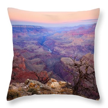 Desert Glow Throw Pillow by Mike  Dawson