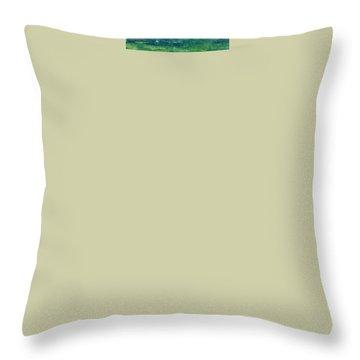Desert Horizon Vertical Throw Pillow