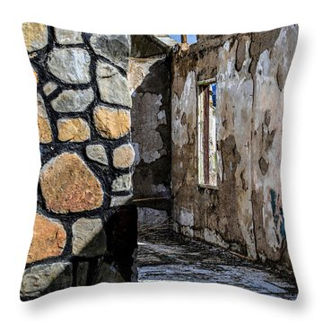 Desert Lodge View 1 Throw Pillow