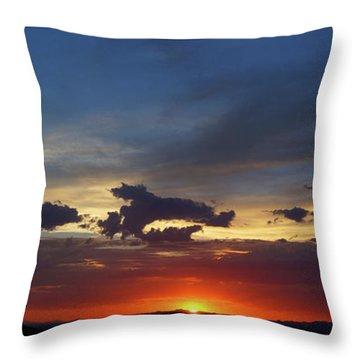 Desert Memories Throw Pillow