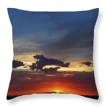 Desert Memories Throw Pillow