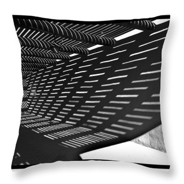Desert Museum Shadows Throw Pillow