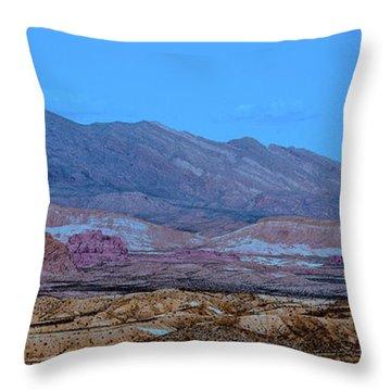 Desert Night Throw Pillow by Onyonet  Photo Studios