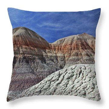 Desert Pastels Throw Pillow by Gary Kaylor