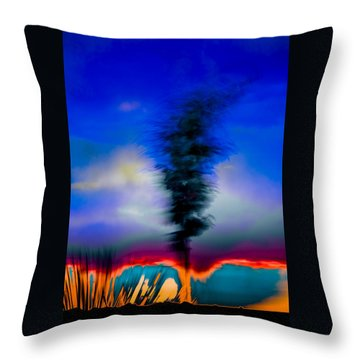 Desert Pottery Throw Pillow by Beverly Parks